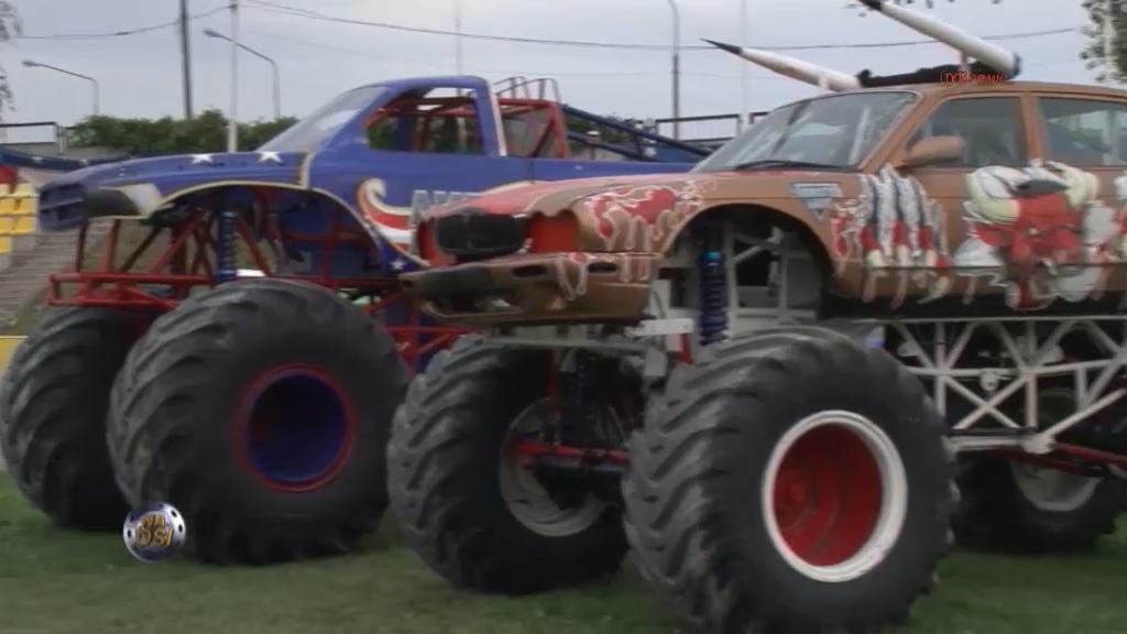 Reportaż pokazy American Monster Truck Opole 9