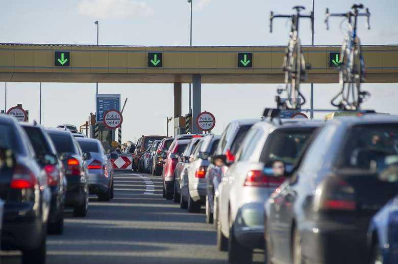 Korki na A1 w Rusocinie na koniec d?ugiego weekendu