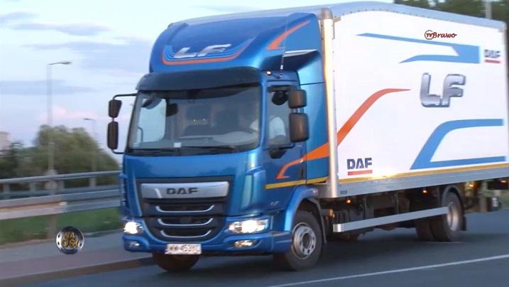 DAF LF z Master Truck'a