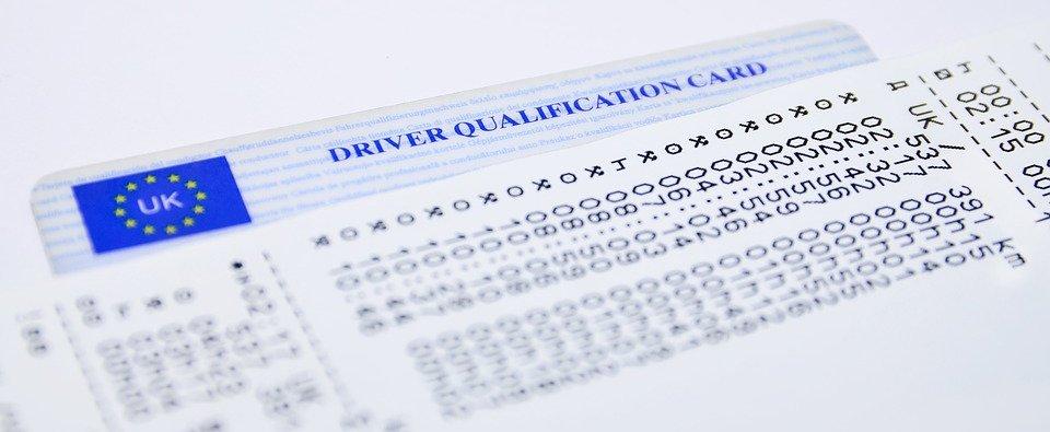 zapis tachografu