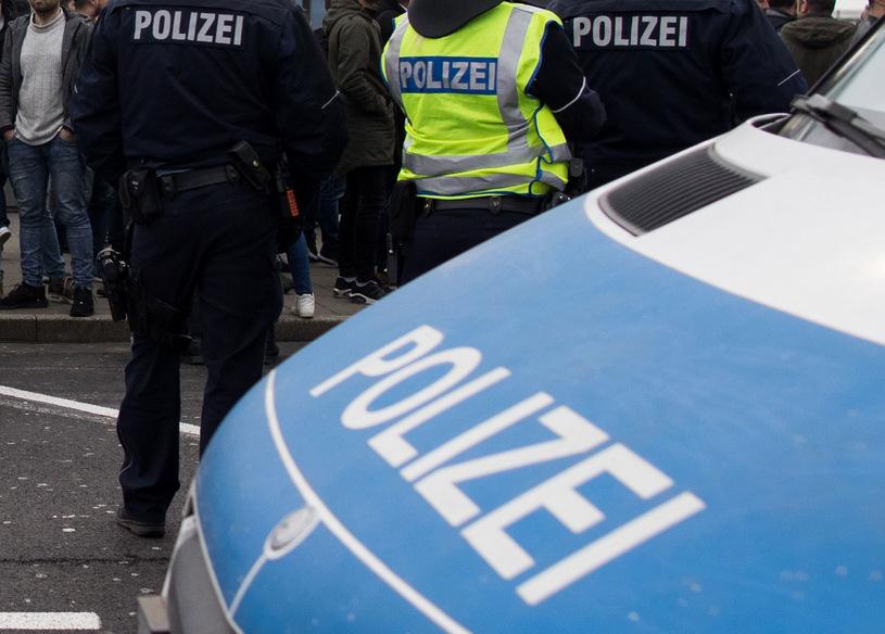 policja w Niemczech
