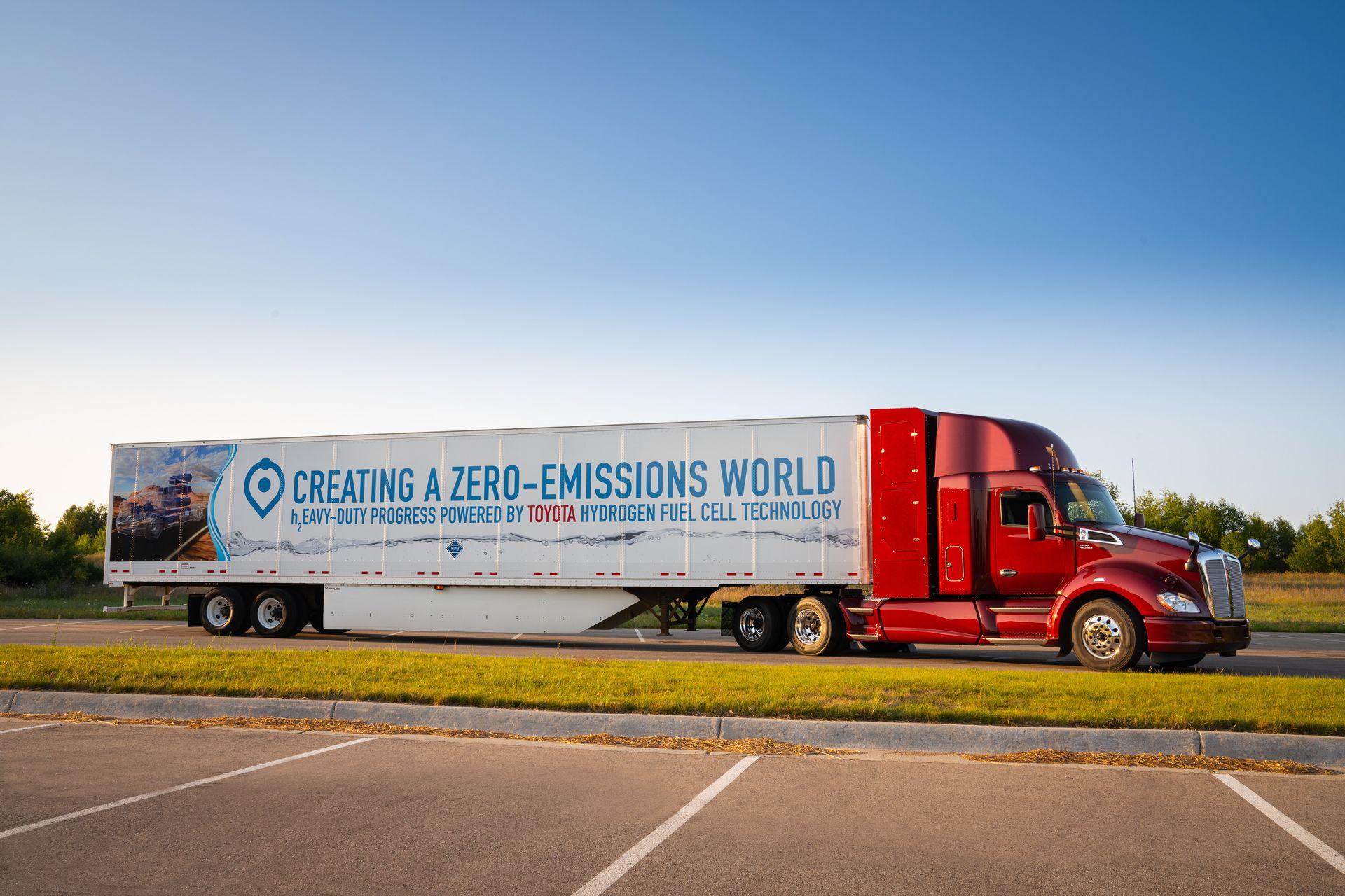 Innowacyjne ciężarówki