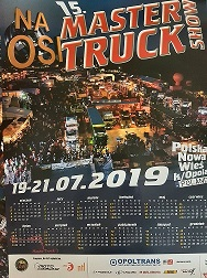 kalendarz Master Truck 2019 ......