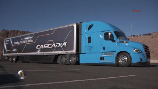 Reportaż Freightliner Cascadia - nowe modele + elektryczny 55