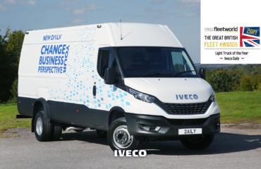 IVECO Daily nagrodzony tytułem Lekkiego Samochodu Ciężarowego Roku 2021
