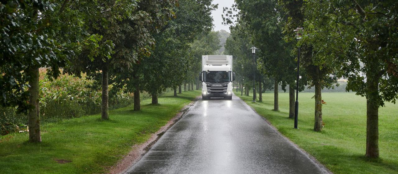 Postęp w realizacji celów klimatycznych Scania