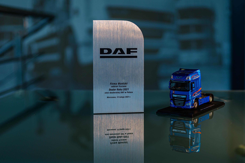 X-ta jubileuszowa edycja konkursu na Dealera Roku DAF w Polsce rozstrzygnięta!