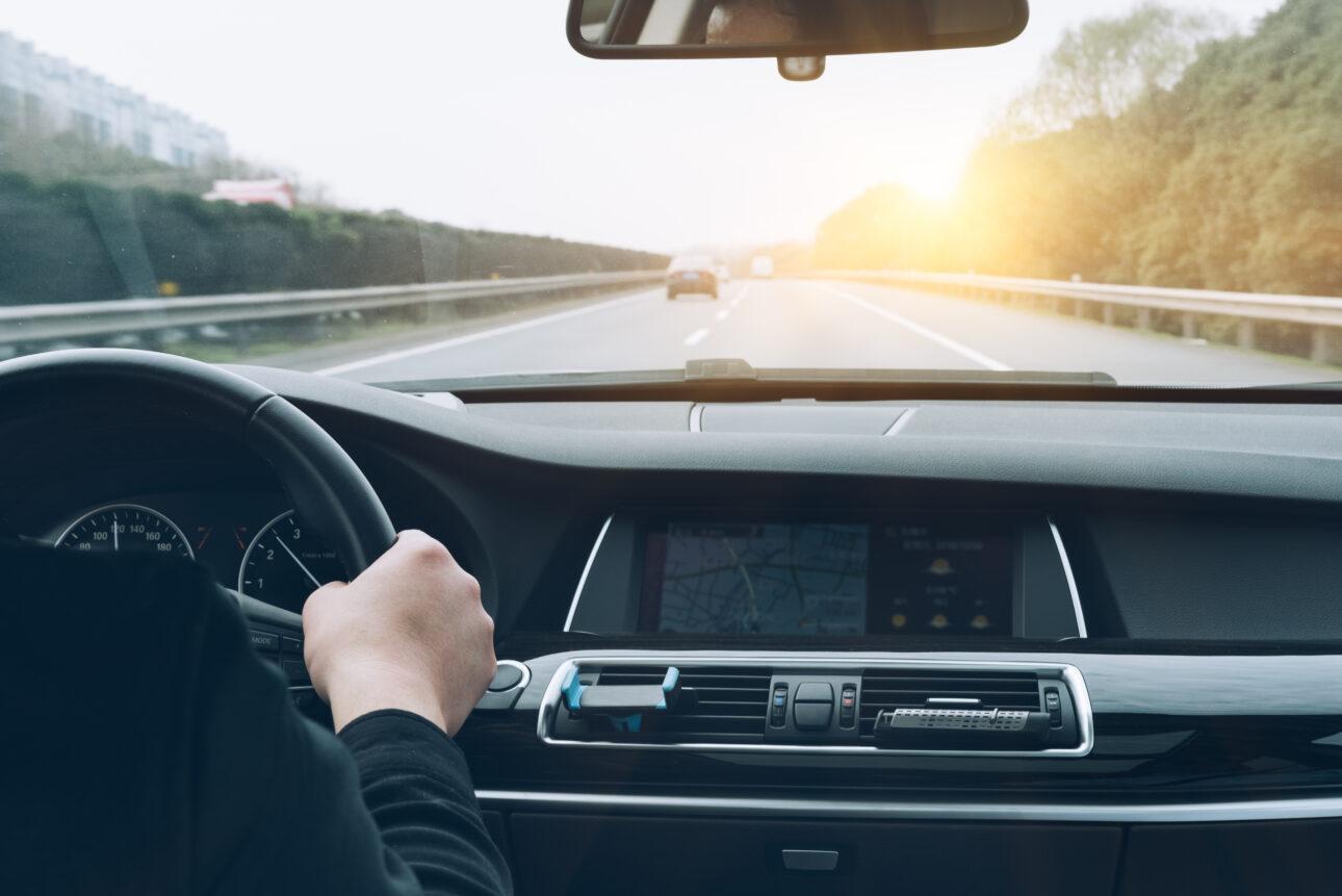 kierowca autostrada