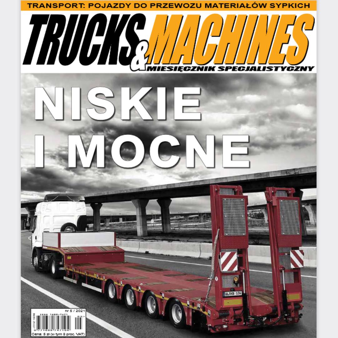 trucks and machines