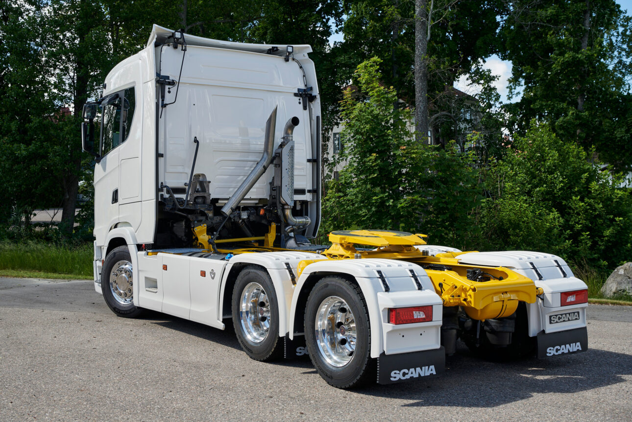 Scania S-series, long cab