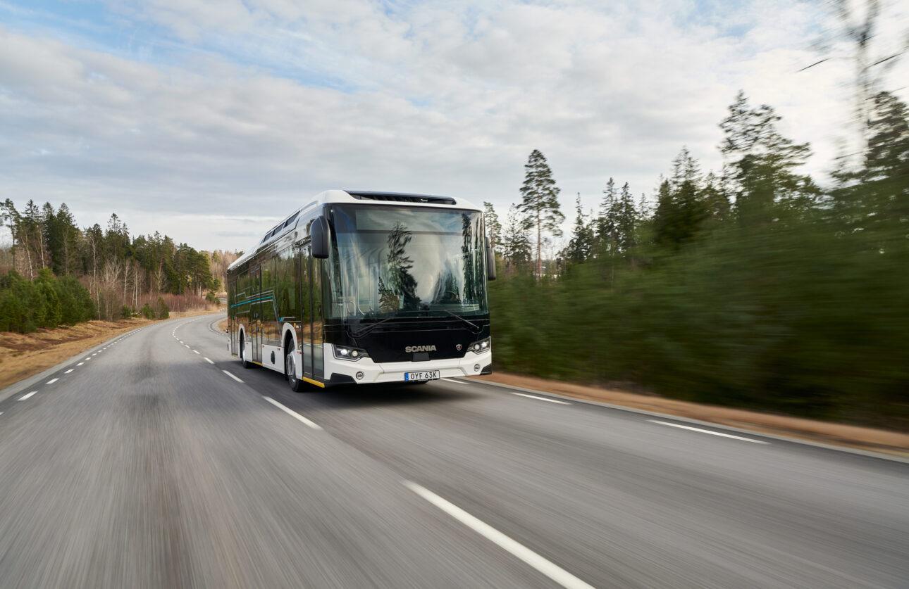 Szwedzki przewoźnik wybiera elektryczne autobusy Scania