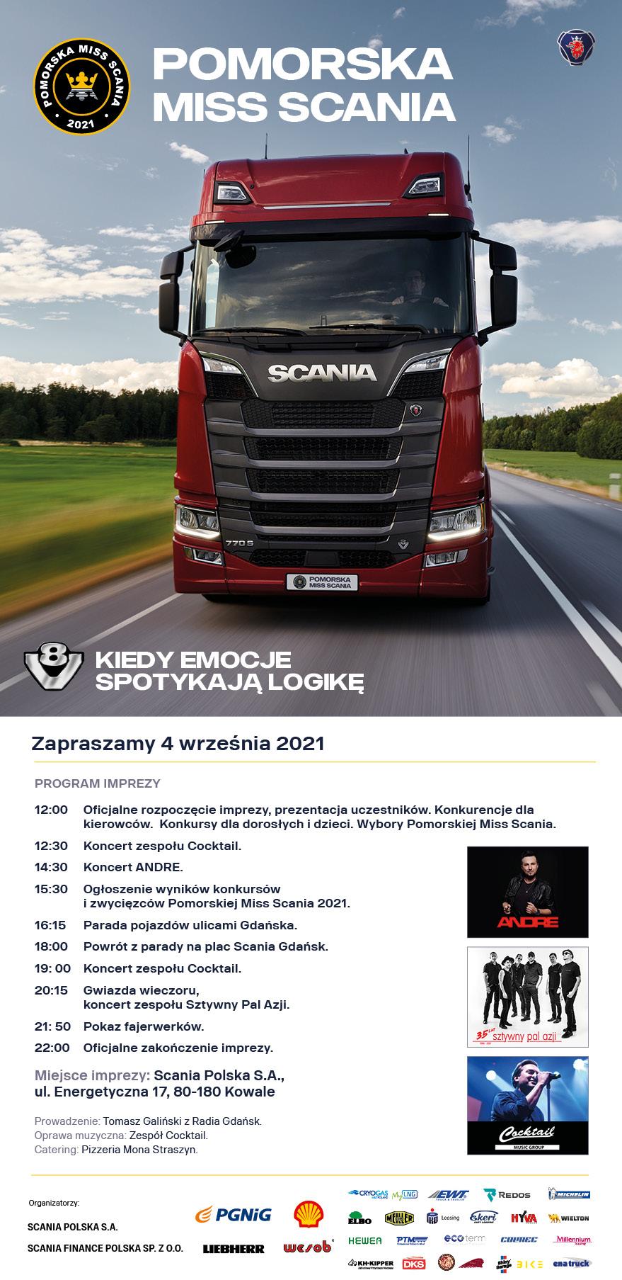 """""""Pomorska Miss Scania"""" wraca w najlepszej – tradycyjnej formie"""