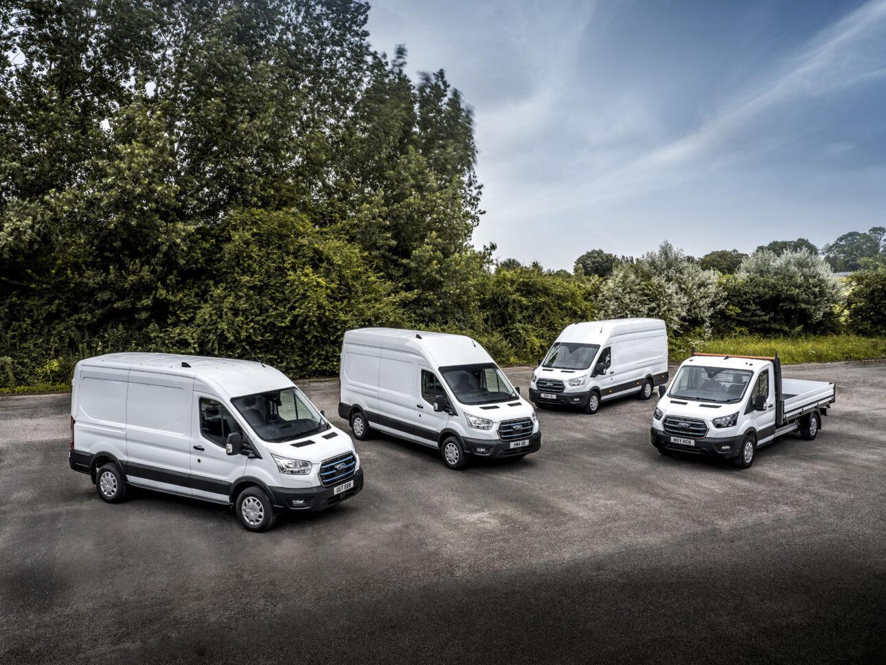 Ford E-Transit wjeżdża na europejskie drogi, a klienci flotowi rozpoczynają testy oszczędnego, w pełni elektrycznego modelu dostawczego