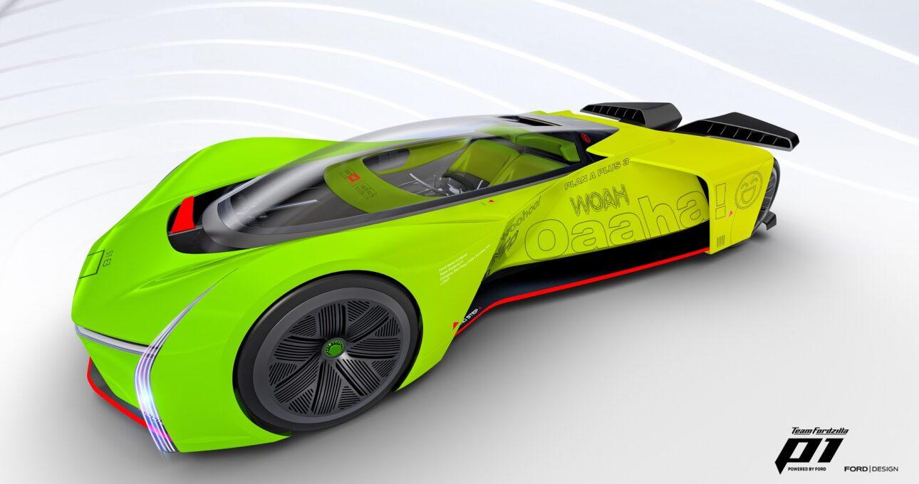 Ford przekształca wyścigówkę P1 w symulator gier; uruchamia kolejny projekt Supervan