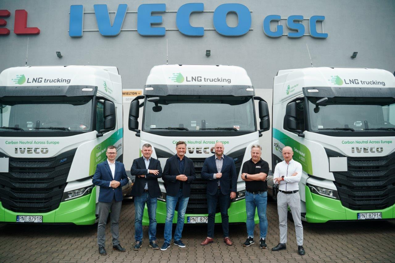 Don Trucking odebrał 20 niskoemisyjnych ciągników siodłowych IVECO S-WAY LNG 2