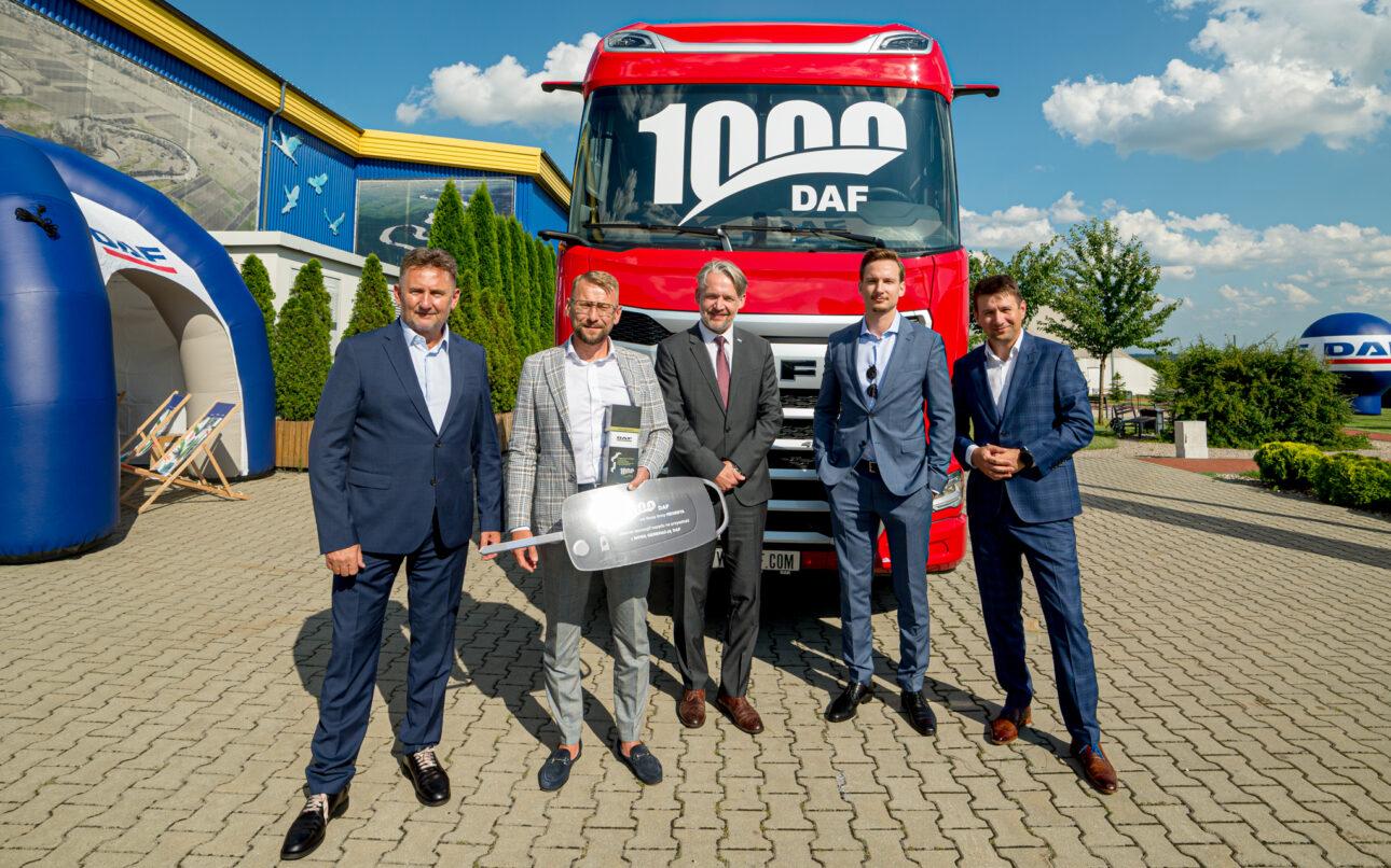 Pierwszy nowy DAF XG w Polsce przekazany