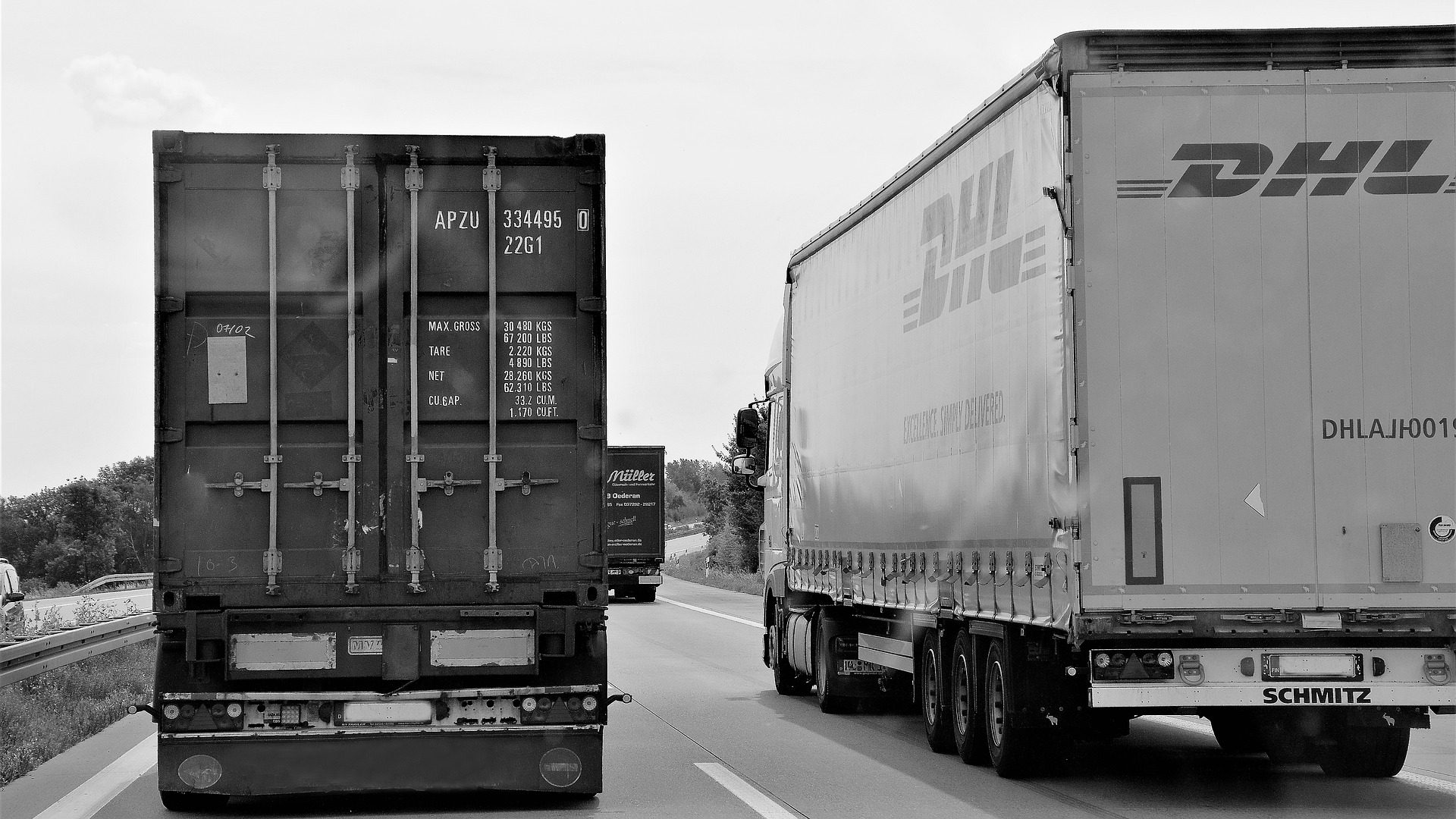 Zakaz wyprzedzania przez ciężarówki w Polsce