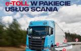 e-TOLL w pakiecie usług Scania