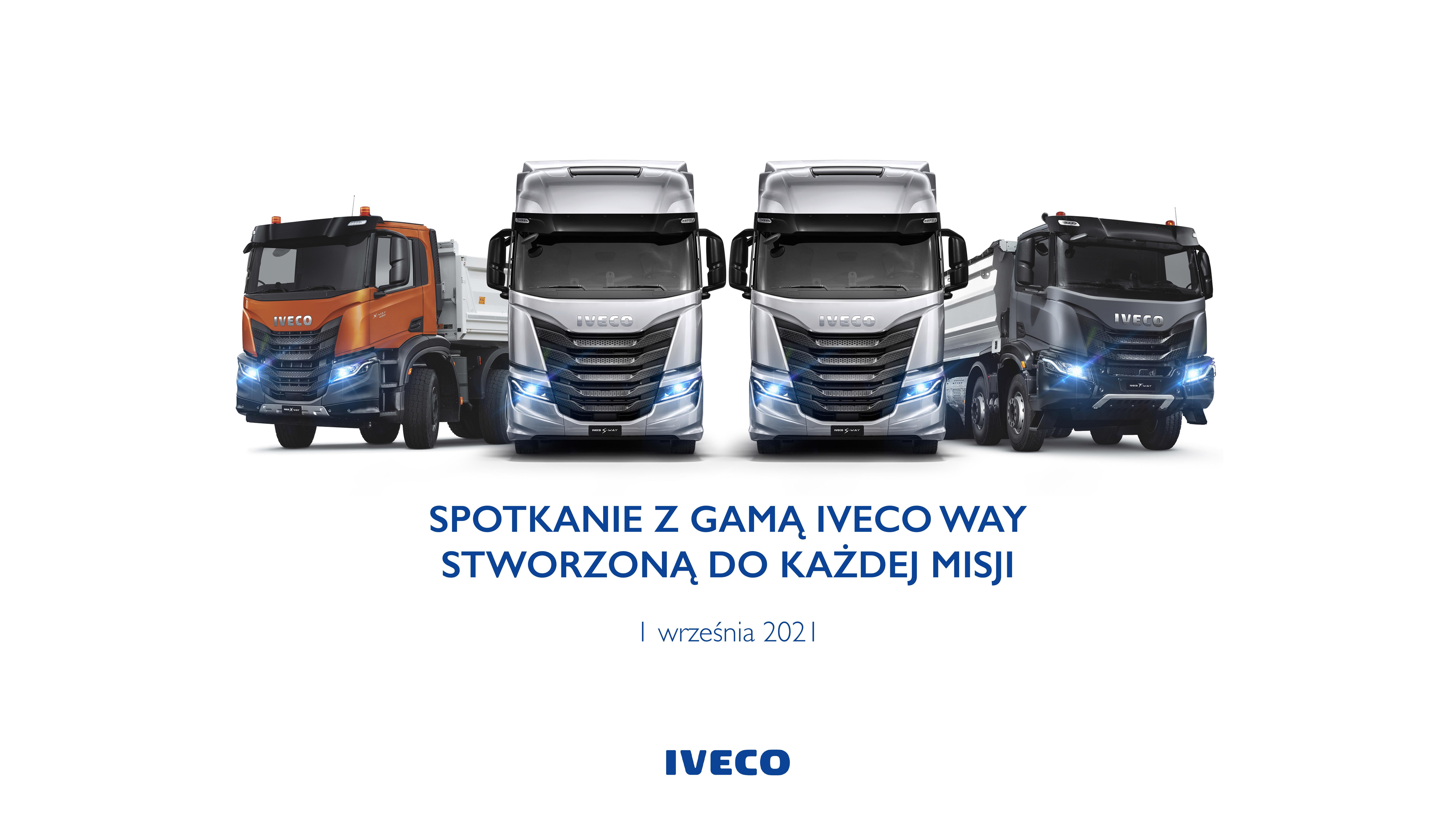 SPOTKANIE Z GAMĄ IVECO WAY, Opalenica, 1-2.09.2021 - informacje praktyczne