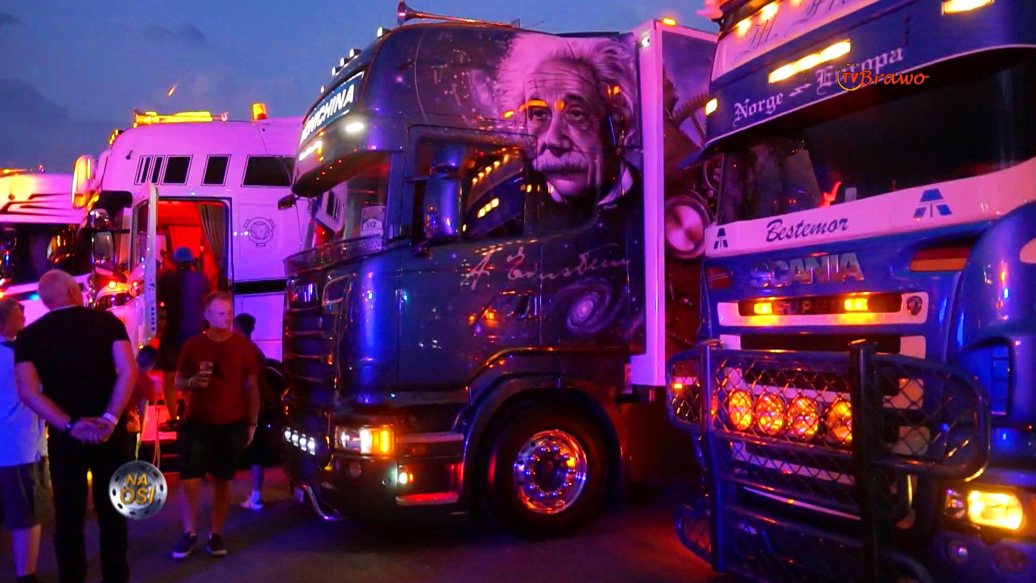Master Truck Show 2021, Moto Złośnica i Dodge RAM 1500 TRX [Na Osi 943]