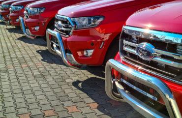 Fordy Rangery ze specjalistycznymi zabudowami dla straży pożarnej